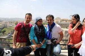 Me with other SITEV 2013 delegates. Having fun in Constantine. Was a lovely day.
