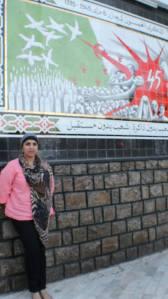 Me in Setif, 2013. Algeria Ministry of Tourism trip, SITEV