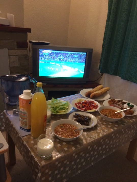 Iftar and the Algeria Germany match